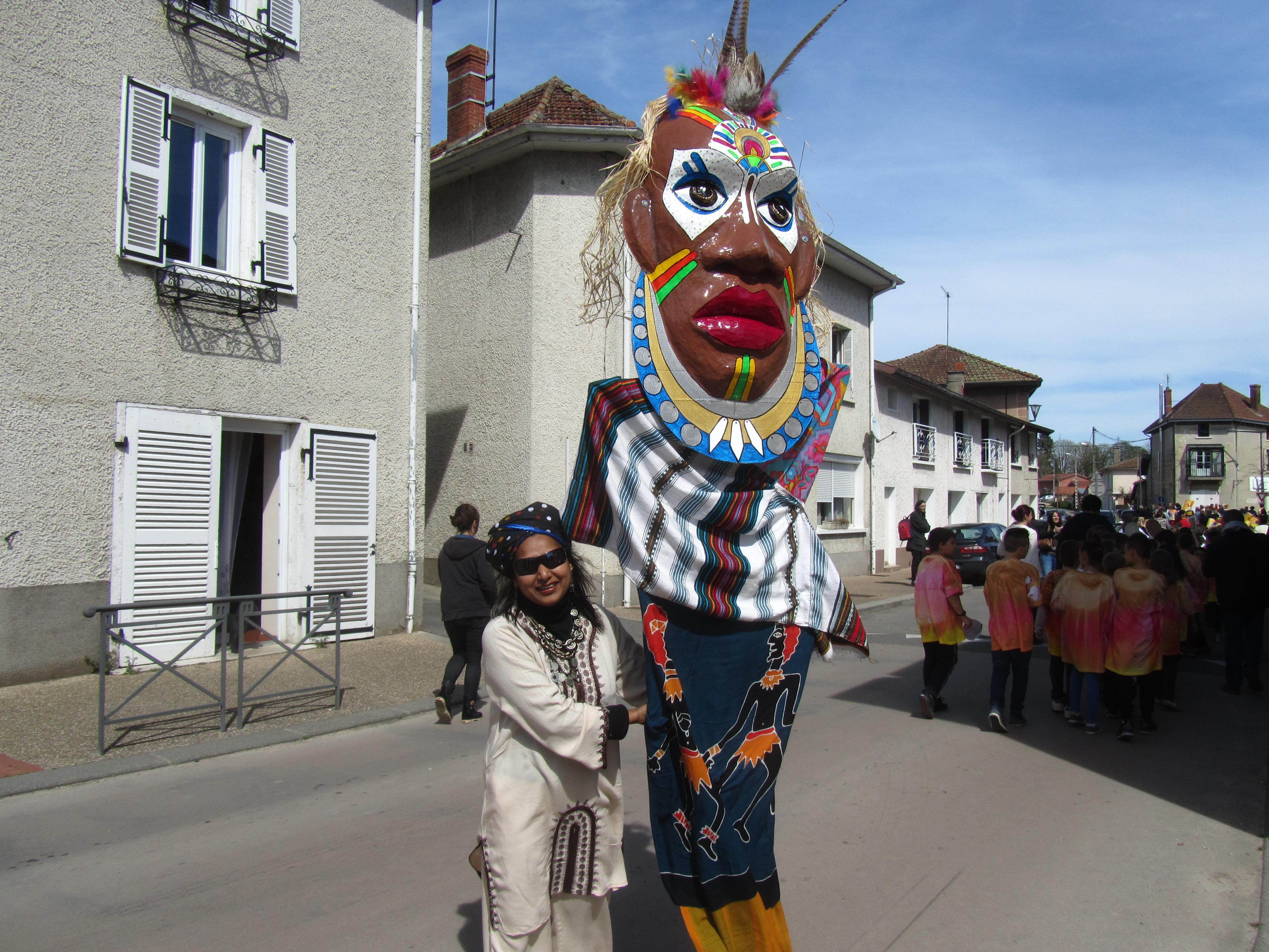 Carnavl 2015 le masque africain